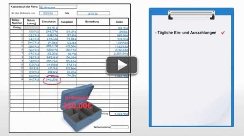 kassenbuch fhren kostenlose excel vorlage - Kassenbuch Fuhren Beispiel