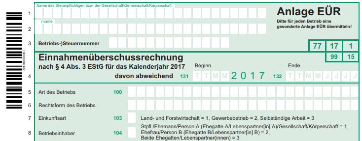 Einnahmenüberschussrechnung Freiberufler Formular Freeware Excel