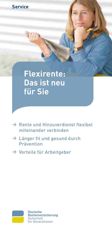 Flexirente: Das ist neu