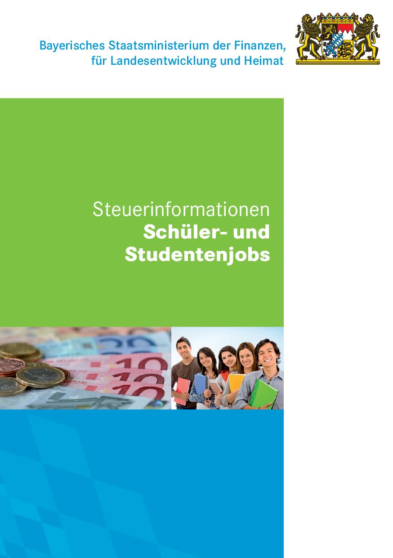 Studentenjobs + Steuer
