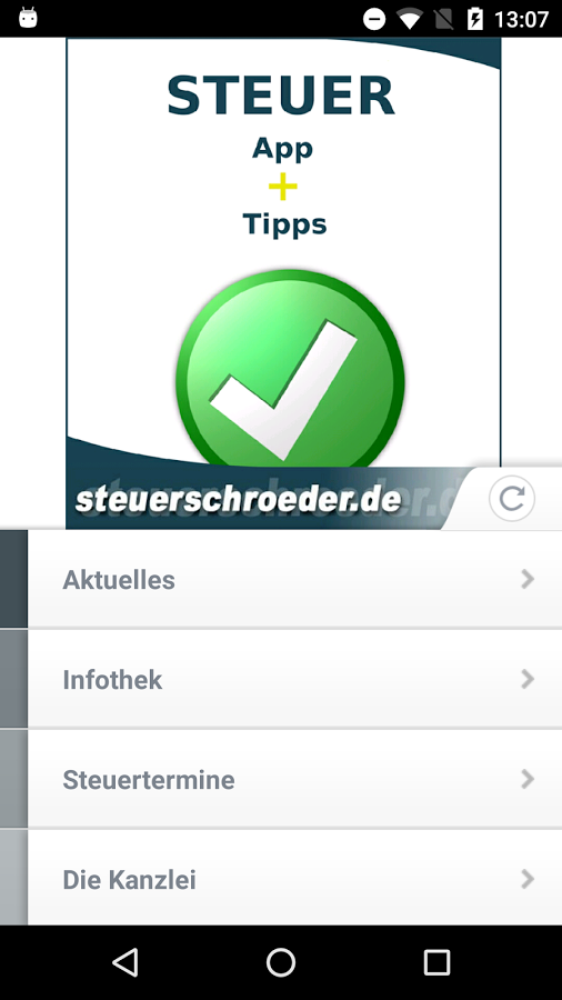 Steuer App - Desktop