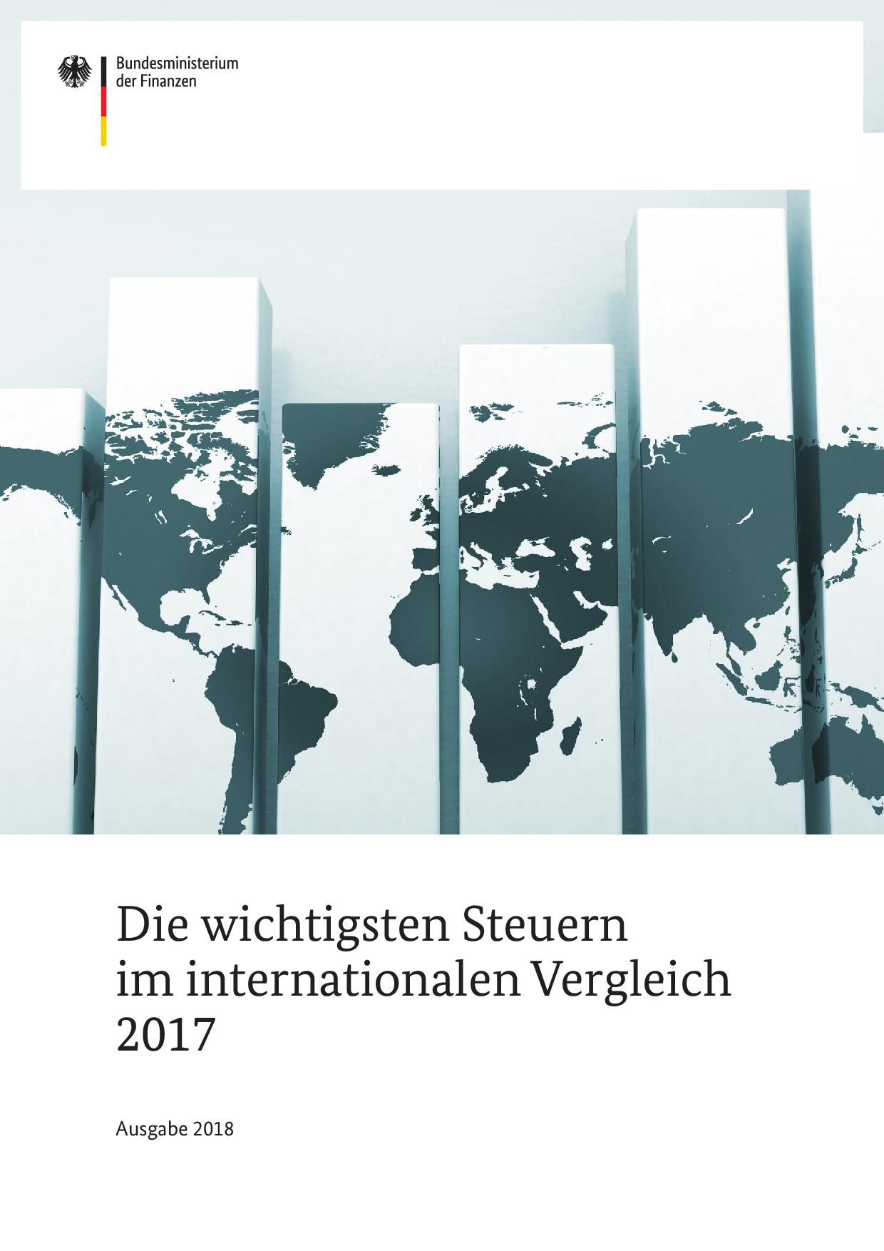 Die wichtigsten Steuern im internationalen Vergleich